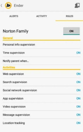Norton Family Free for 6 Months License - Cloud Based Parental Control