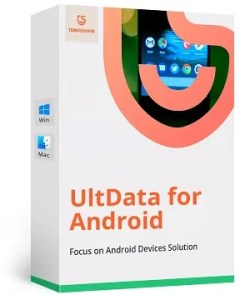 Tenorshare UltData Android Data Recovery License for Free