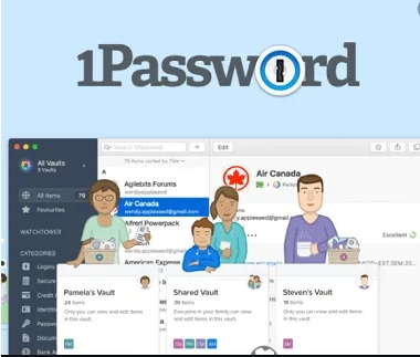 1Password Families Password Manager Free Subscription for 6 Months