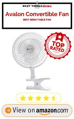 Avalon Convertible Desk Fan Review