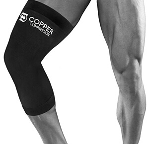 Copper Compression Recovery Knee Brace