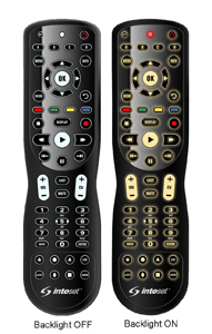 Inteset INT 422 4 In 1 Universal Backlit IR Learning Remote