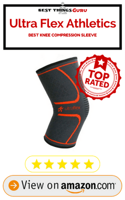 Ultra Flex Athletics Knee Compression Sleeve Support Review