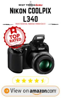 Nikon Coolpix L340 Digital Camera Under 200