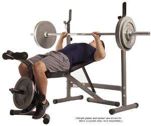 Body Champ BCB3780 Olympic Weight Bench Bg