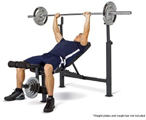 Competitor Olympic Bench2