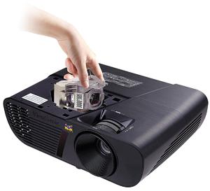 ViewSonic PJD5155 3300 Lumens SVGA HDMI Projector Bg
