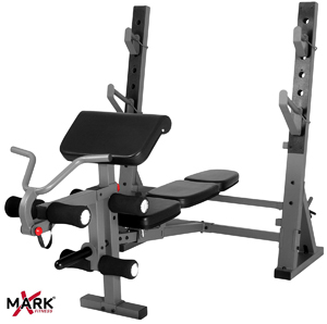 XMark XM 4424 1 International Olympic Weight Bench 2