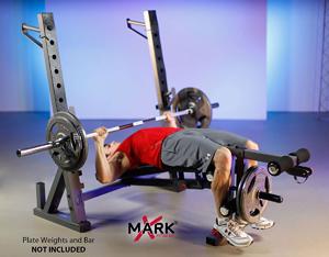XMark XM 4424 1 International Olympic Weight Bench Bg