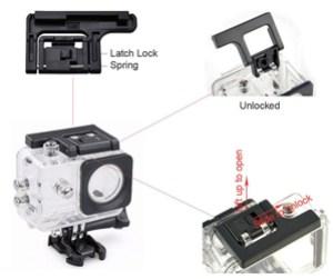 Lightdow LD4000 1080P HD Sports Action Camera Bg