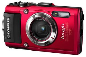 Olympus TG 3 Waterproof 16 MP Digital Camera Bg