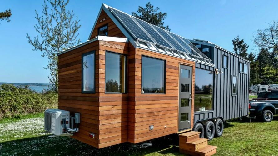 tiny house solar panels