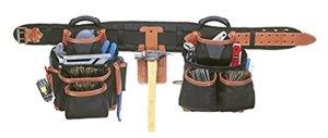 CLC Custom LeatherCraft 51452 4 Piece Top Of The Line Pro Framer's Tool Belt