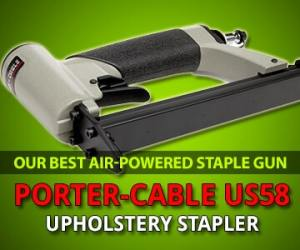 Best air-powered staple gun review