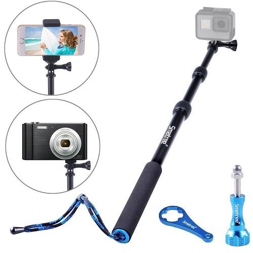 New Waterproof Selfie Sticks for Your GoPro