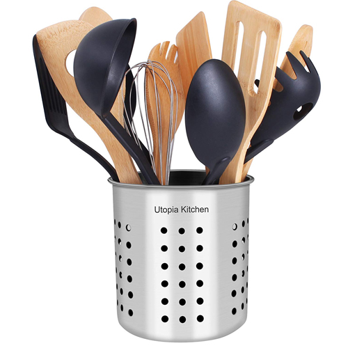 Best Rated Of The Top 10 Best Utensil Holder Reviews 4