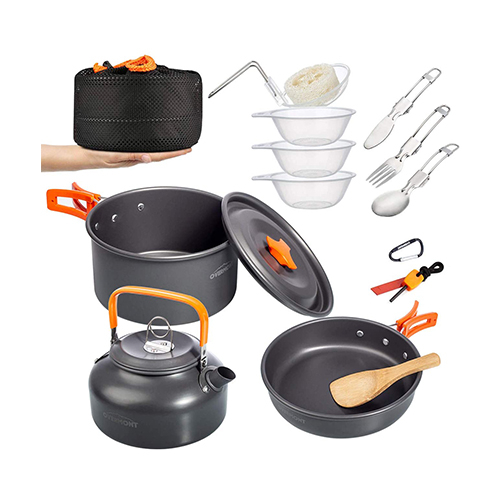Top 10 Best Camping Cooking Gears​ Reviews 2