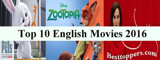 Top 10 English Movies 2016