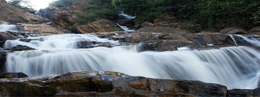 Meenmutty waterfalls tourist places in wayanad