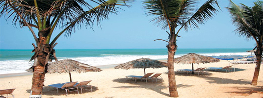 Arossim Beach goa tourist places