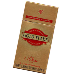 Gold Flake Kings Cigarette