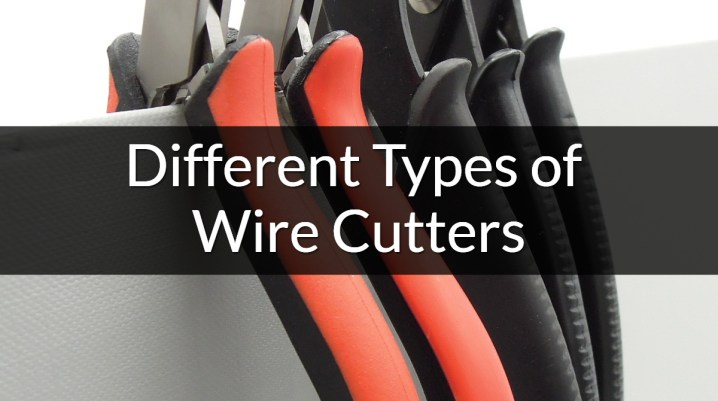 types of wire cutters