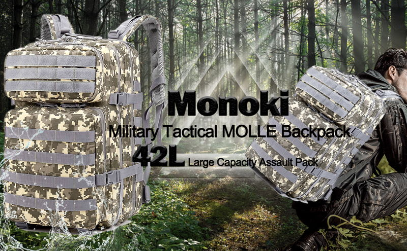 Monoki Military Tactical Backpack