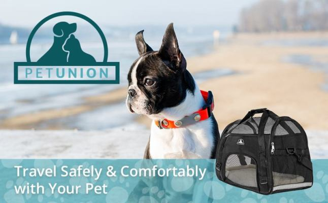 pet union pet carrier bags for dogs to travel main