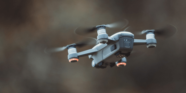 Image of Drone Flying on Brown Background from Best Travel Drones Image 3