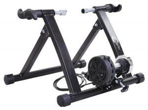 CrystalTec BT017 Indoor Magnetic Variable Resistance Turbo Bike Trainer