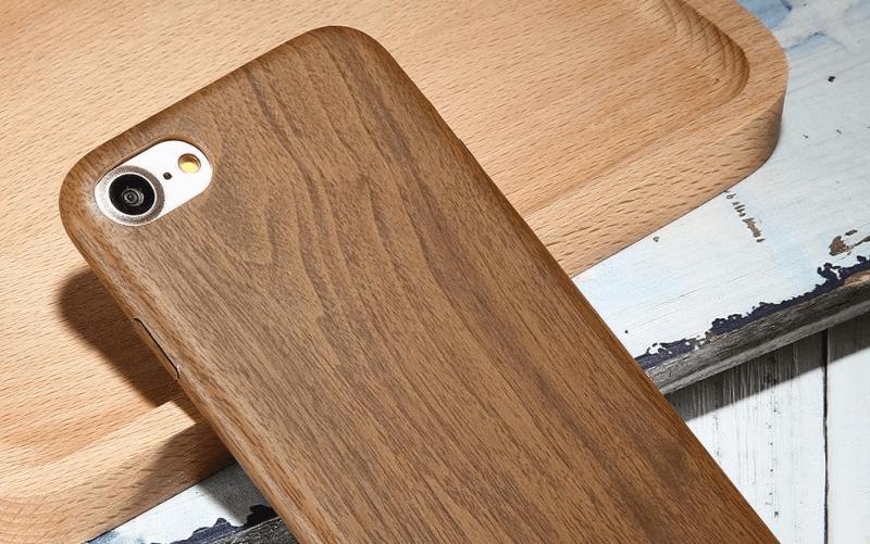 casing handphone dari kayu bekas