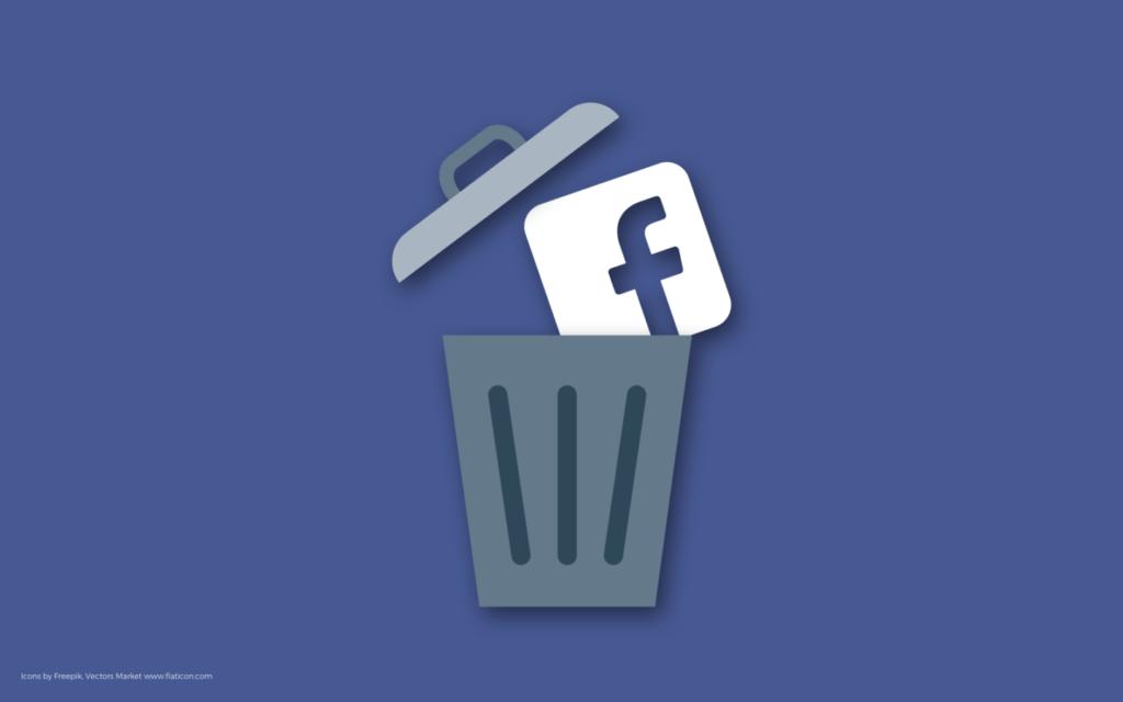 cara menghapus akun sosmed facebook