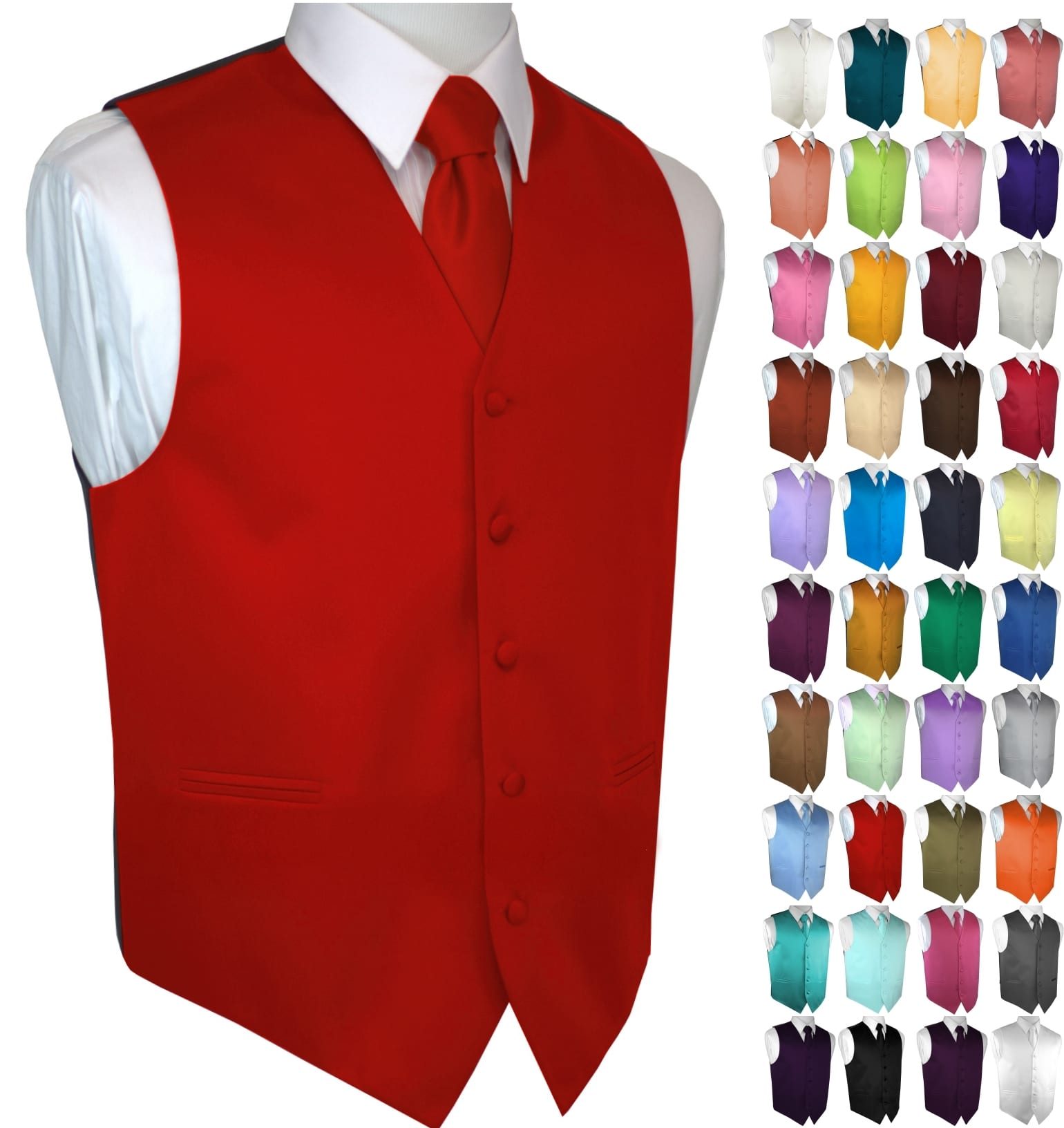Brand Q Mens Formal Tuxedo Vest in Canary Prom Wedding