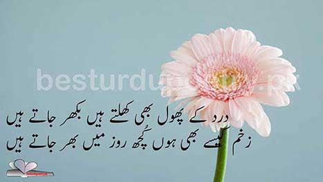 dard ke phol khilte han - sad poetry - besturdupoetry.pk