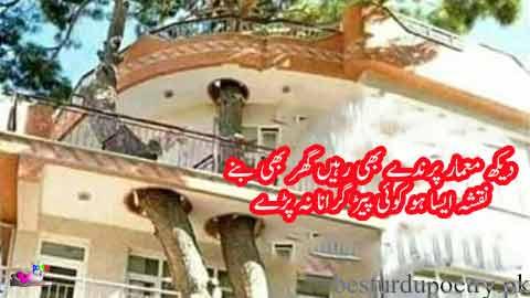 dekh memar parinday bhi rahain aur ghar bhi banay