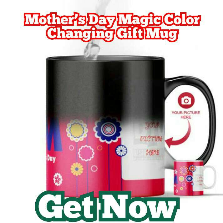 Mother's Day Magic Color Changing Gift Mug