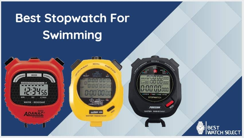 Stopwatch reviews for Swimming running cycling boxing biking