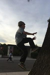 Boy Jumping 1