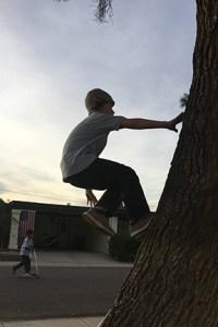 Boy Jumping 2