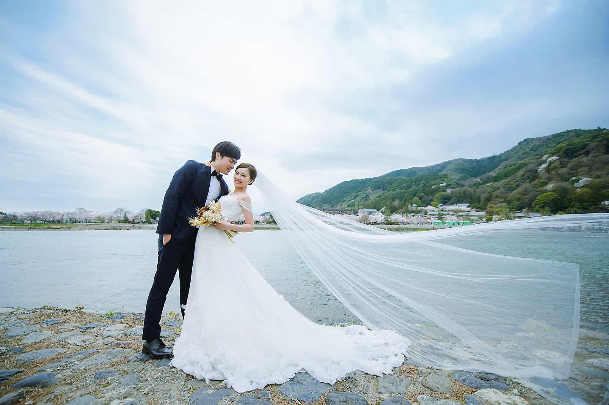 日本櫻花婚紗