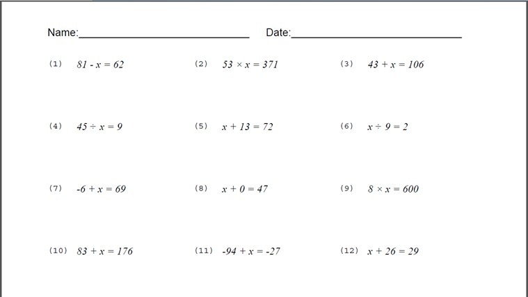 Binomial Equation Worksheet For Windows 8 And 8 1