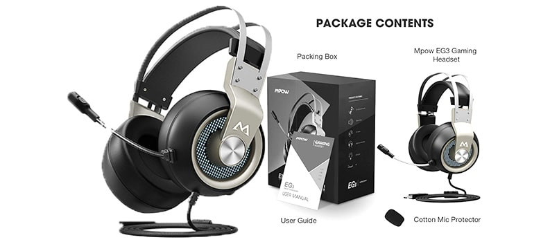 Mpow Eg3 Series II - PC Gaming Headset mpow bluetooth headphones