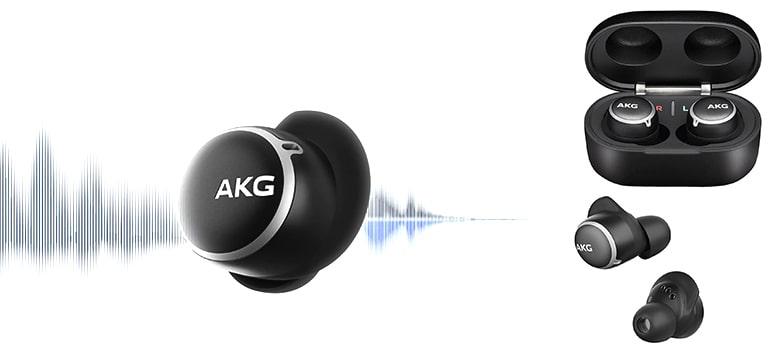 AKG N400 True Wireless Noise Canceling Earbuds-earphones