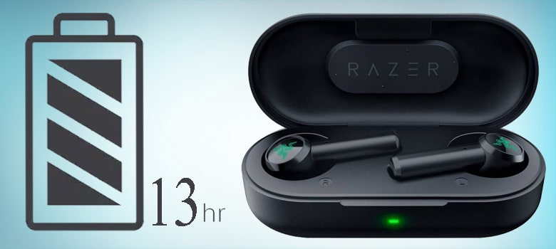 razer hammerhead true wireless battery life