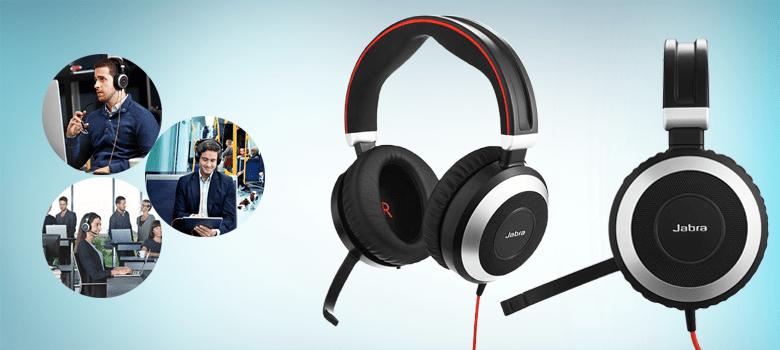 wireless headphone with mic for computer and phone
