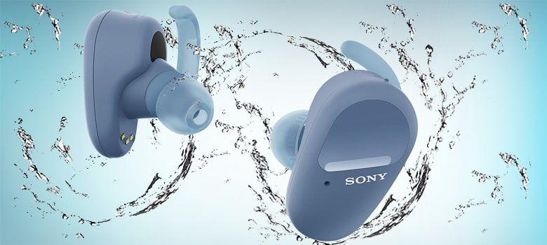 sony wf sp800n true wireless noise cancelling earbuds