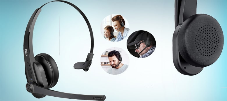 Best Bluetooth Headset with Microphone for Office Work