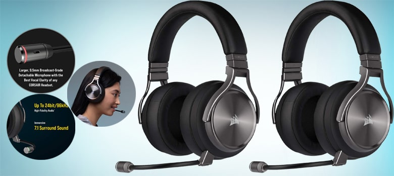 best surround sound headphones for watching movies in tv and music and PC Gaming Headset