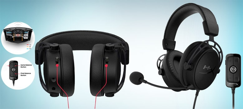 HyperX Cloud Alpha S - PC Gaming Headset