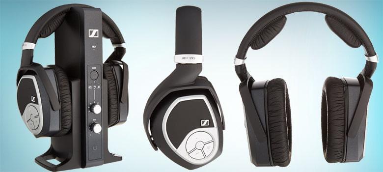 sennheiser rs 175 rf wireless headphone system review